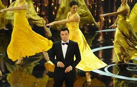 "Red Carpet Manners –  ""Seth McFarlane Spins His Brand of Sarcasm at the 85th Academy Awards"""