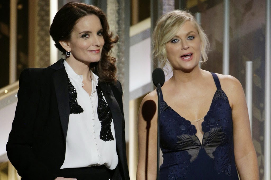 Red Carpet Manners – Third Time's a Charm for Tina & Amy at the 72nd Golden Globe Awards